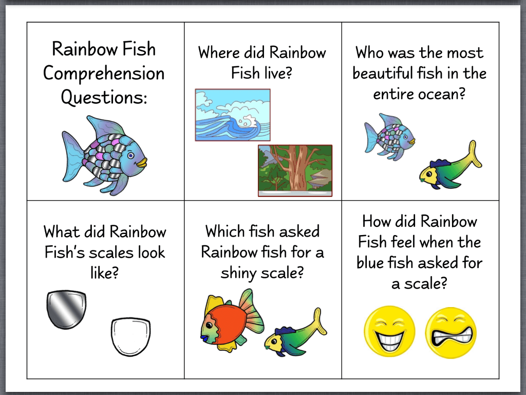 Let S Talk The Rainbow Fish