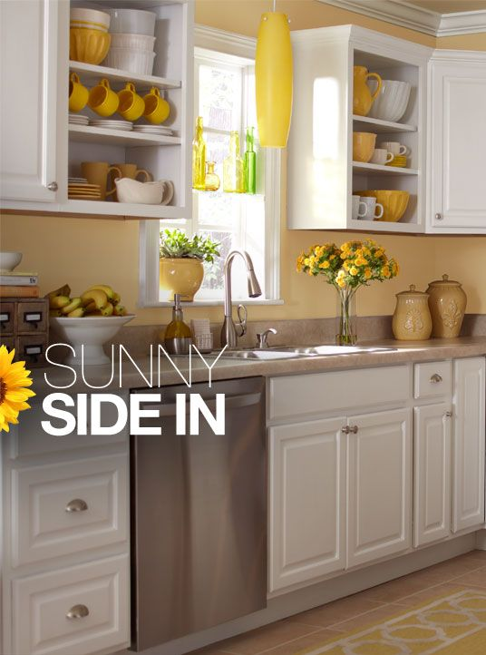 yellow kitchen inspiration stuff we neeeed for our new house pinterest kitchen on kitchen remodel yellow walls id=50635