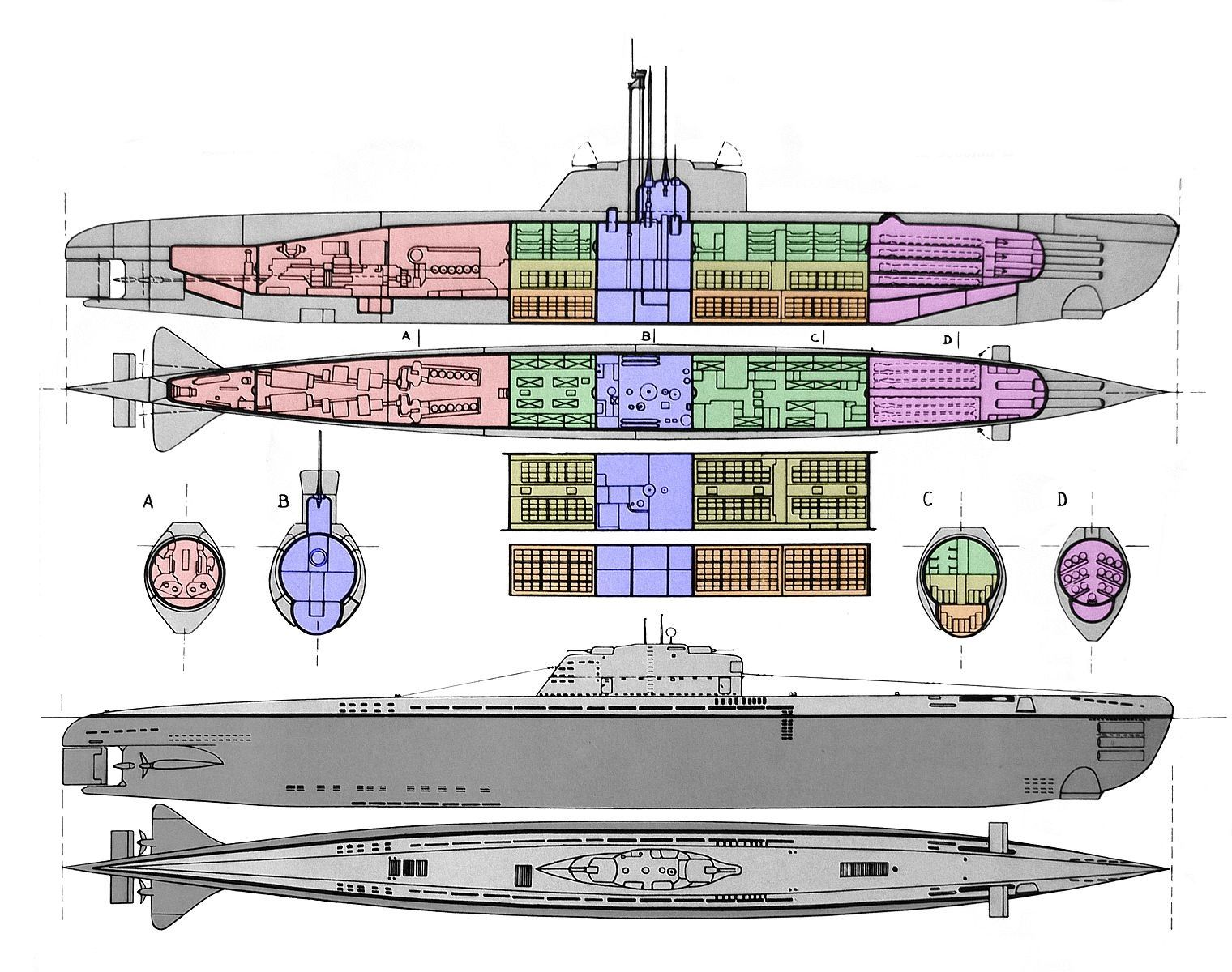 Type Xxi U Boat