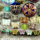Butterfly Czech Glass Beads Buttons Charms Findings  SAVE it