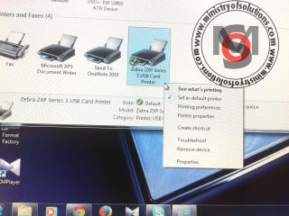 How To Update Zebra ZXP Series 3 Printer Firmware