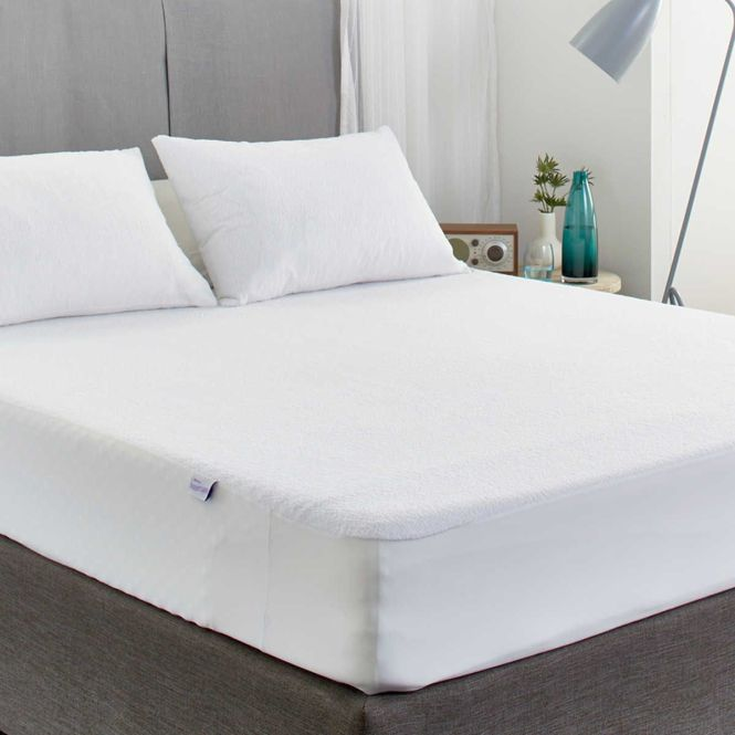 Protect A Bed Cotton Terry Ed Mattress Protector King Single W