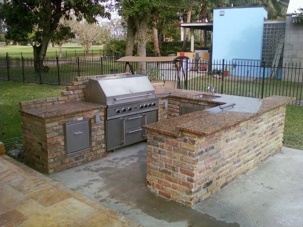 New Ideas Bbq Patio Ideas And Patio King Custom Barbecue ... on Backyard Patio Grill Island id=67467
