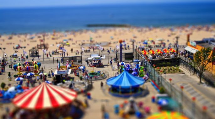 Tilt Shift post process