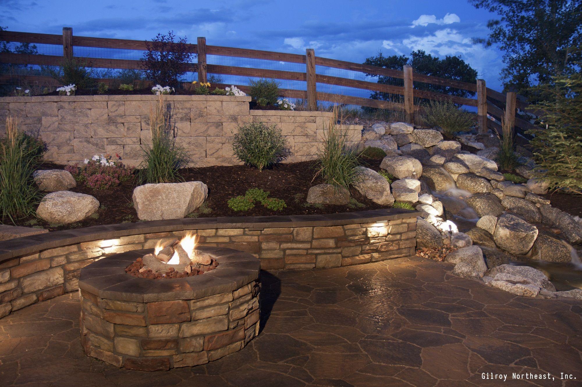 7 DIY Ways To Make Your Patio Awesome | Stone retaining ... on Patio Stone Wall Ideas  id=62798