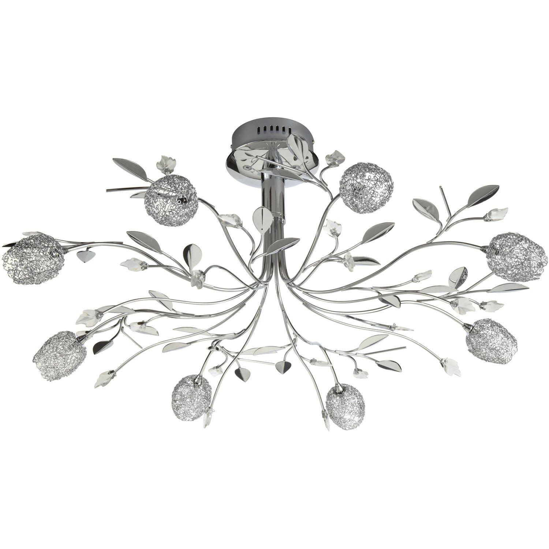 Lustre Adriana Chrom Dcoration Eclairage Luminaire