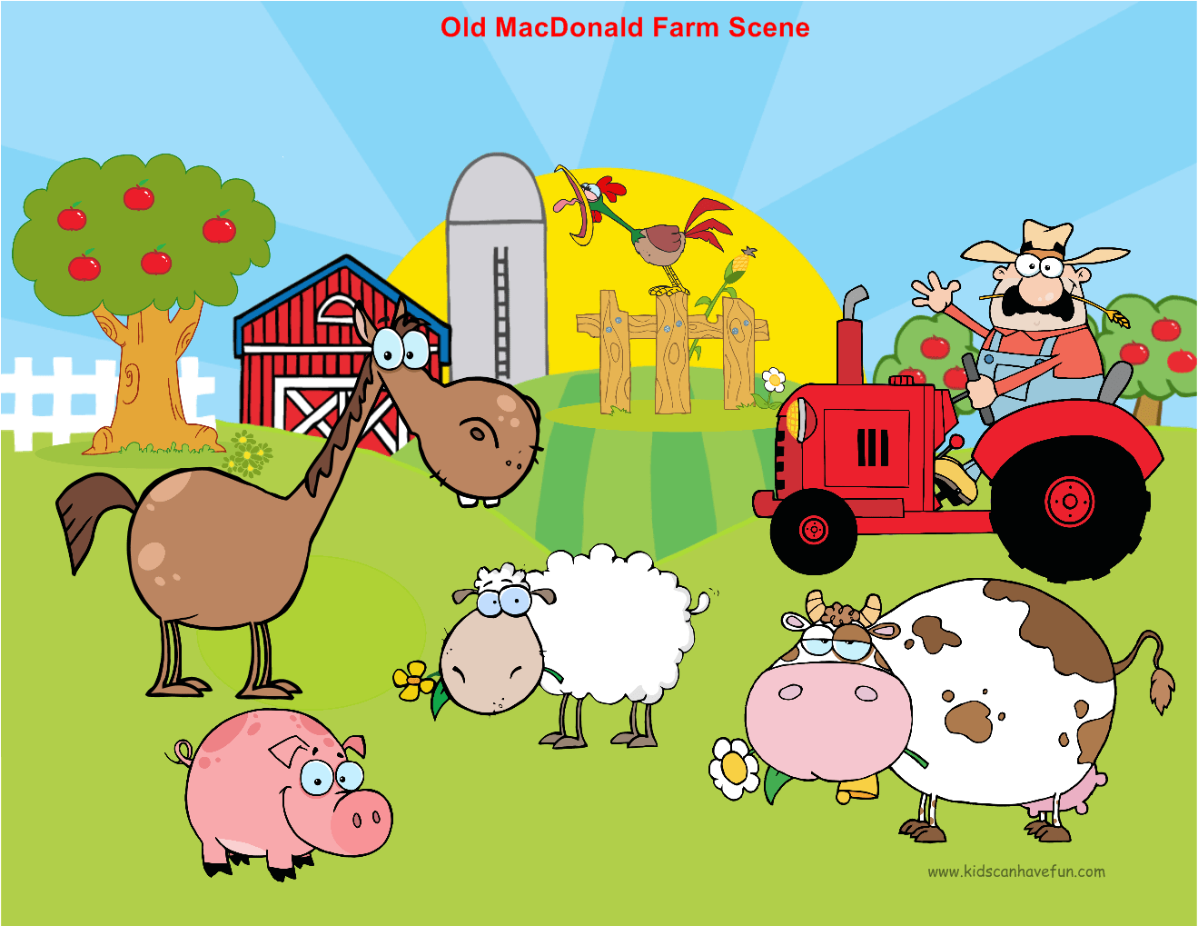 Learn How To Diy Farm Story Felt Board With Old Macdonald