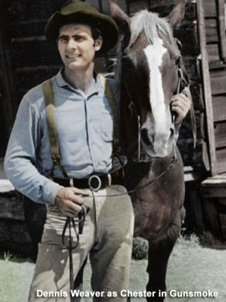 Image result for dennis weaver in gunsmoke