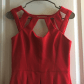 Betsey johnson red fit u flare cut out dress nwt betsey johnson