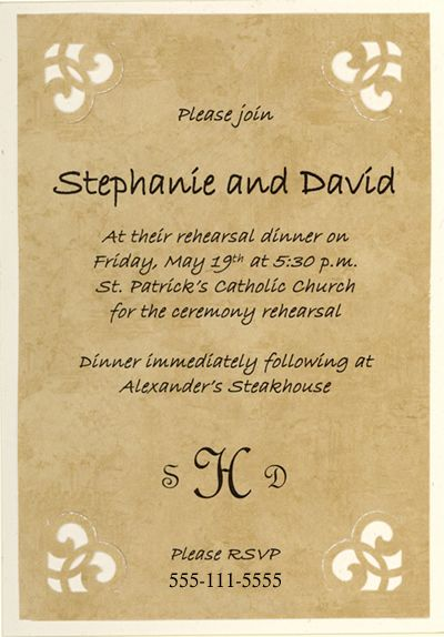 Doc.#: Sample Invitation Card for an Event – Invitation Cards for ...