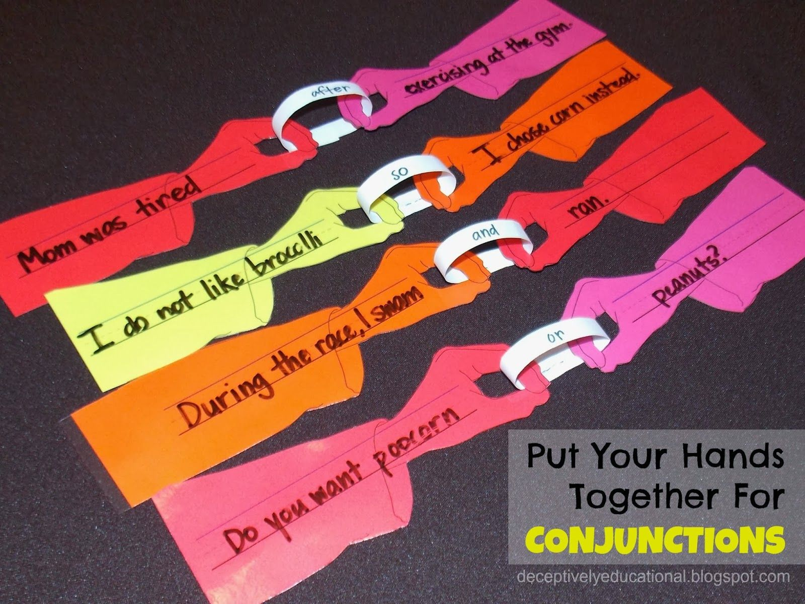 Put Your Hands Together For Conjunctions