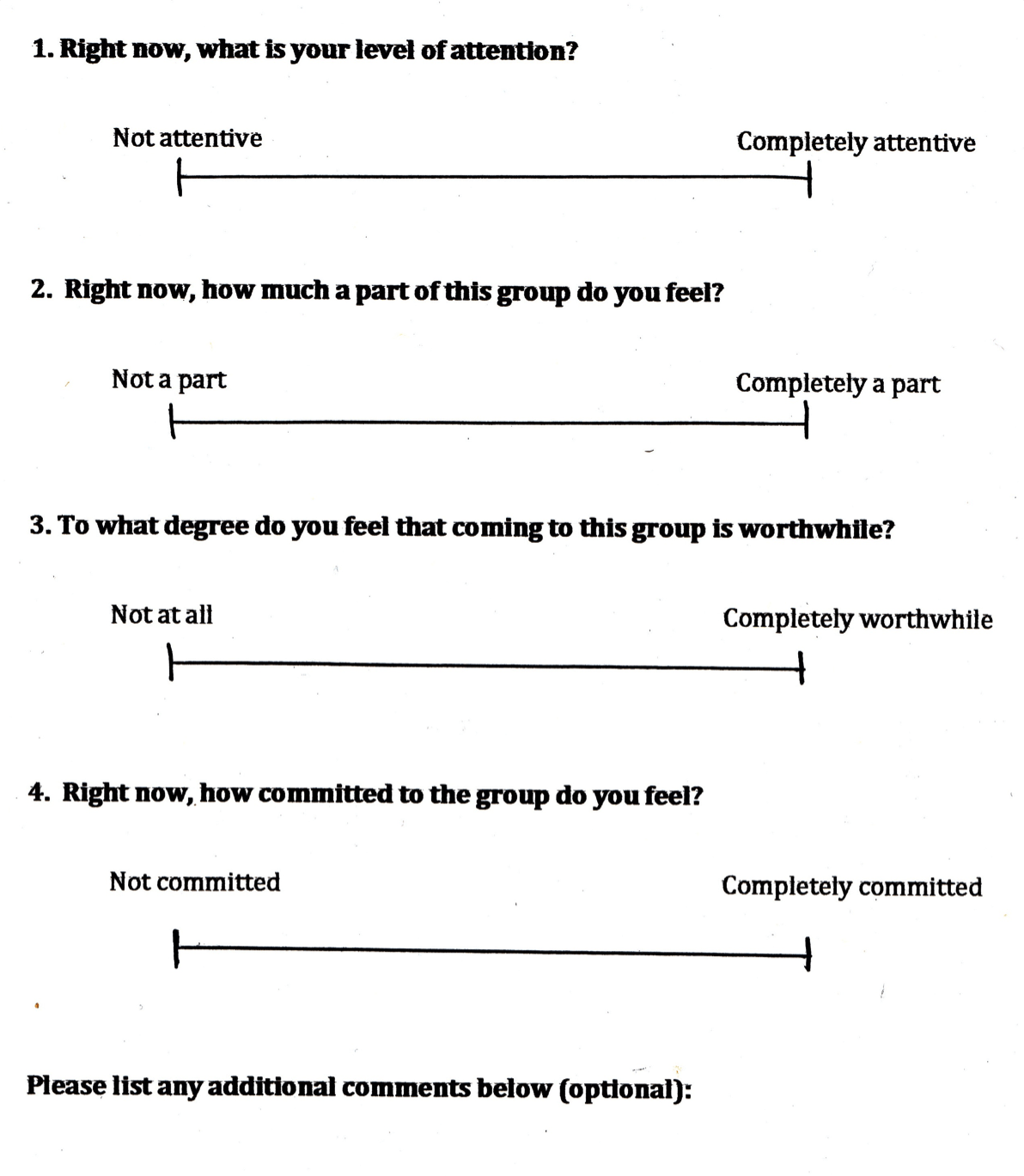 Person Centered Therapy Handouts