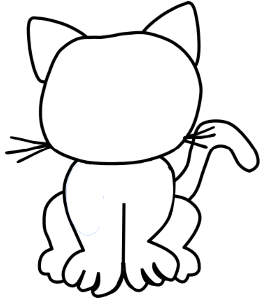 cat coloring pages 2  patterns  pinterest  more cat
