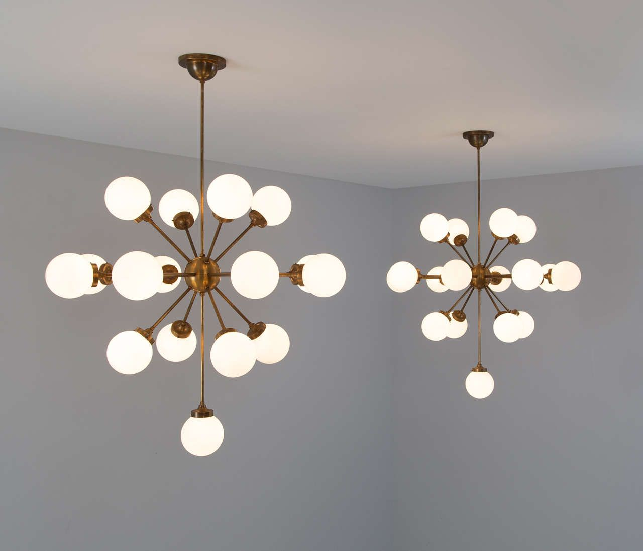 Extremely Large Brass Chandelier Brass Chandelier