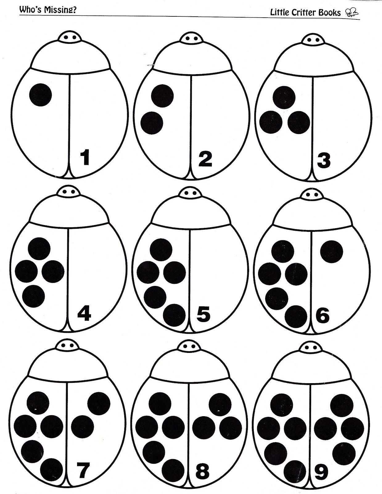 Preschool Bugs
