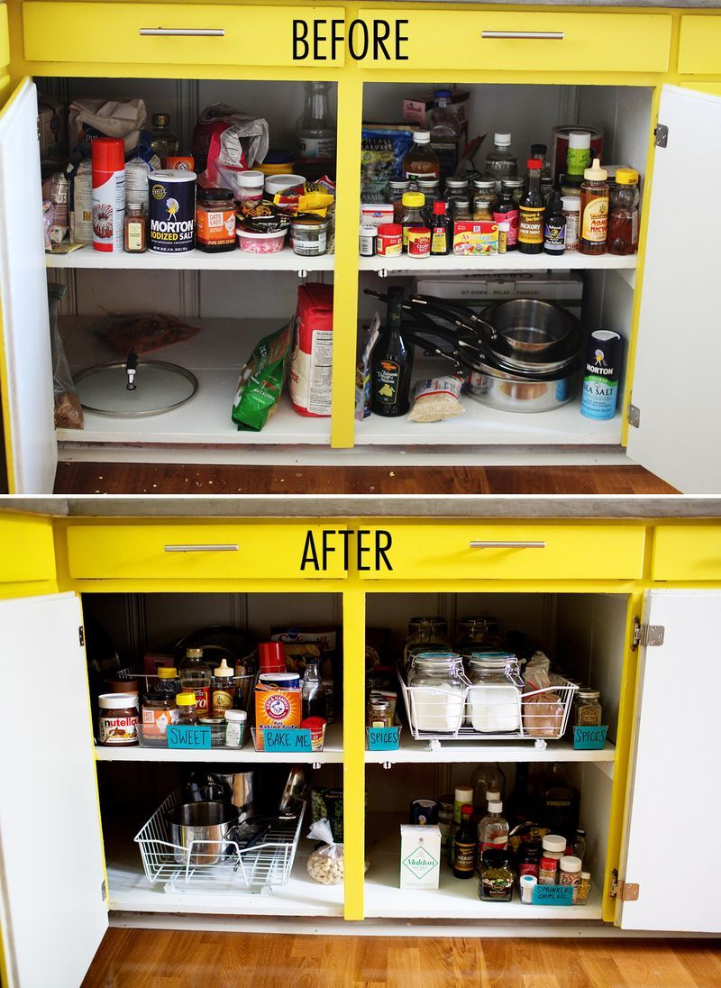 this step by step guide to kitchen organization can save even the most cluttered cabinets take on kitchen cabinets organization layout id=30301