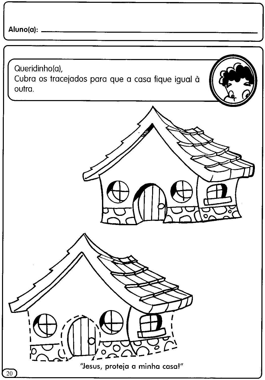 Atividades Sobre A Casa Moradia Para A Educacao Infantil