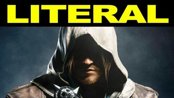 LITERAL Assassin's Creed 4: Black Flag Trailer Whoa ...