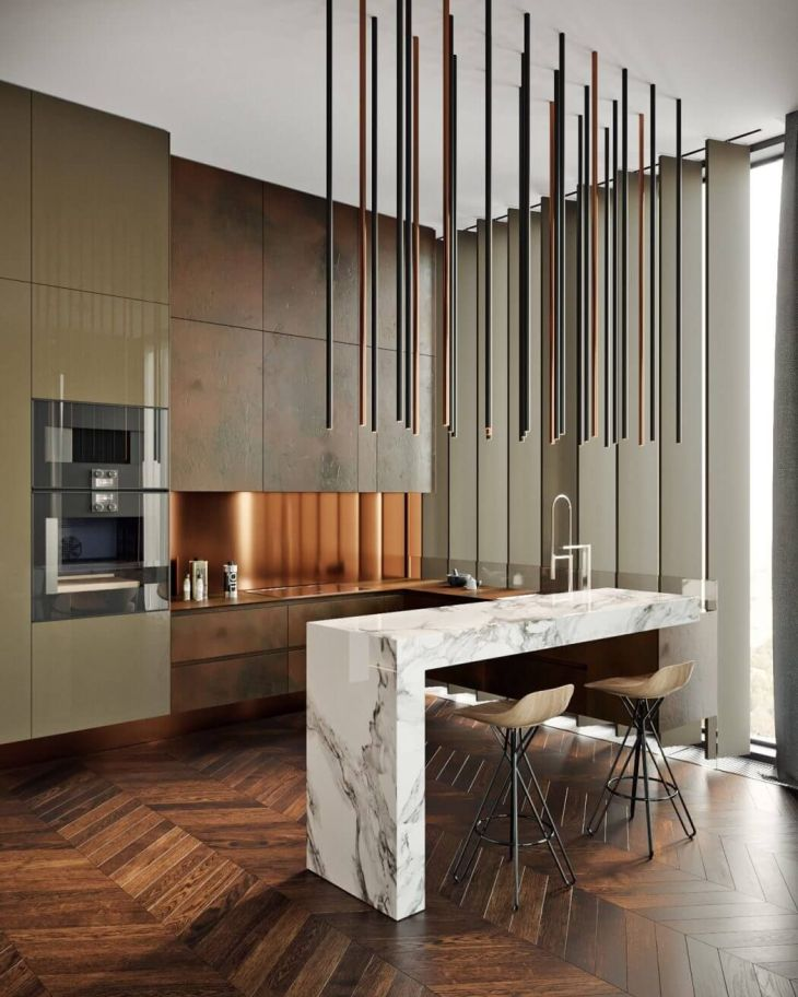 OKO Apartment by Tolko Interiors Apartments Interiors and Kitchens
