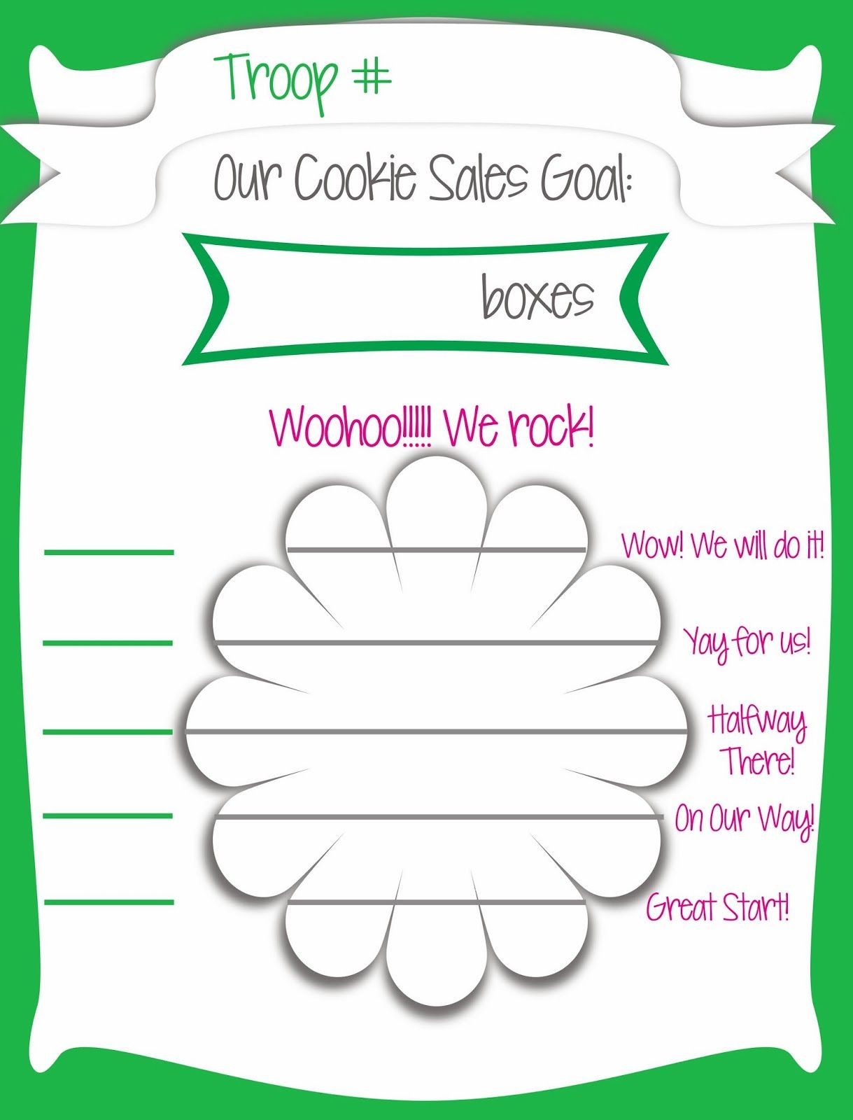 Fashionable Moms Girl Scout Cookie Sales