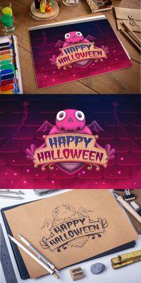 happy halloween painting games