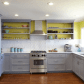 If your kitchen cabinets are in good shape painting them is an