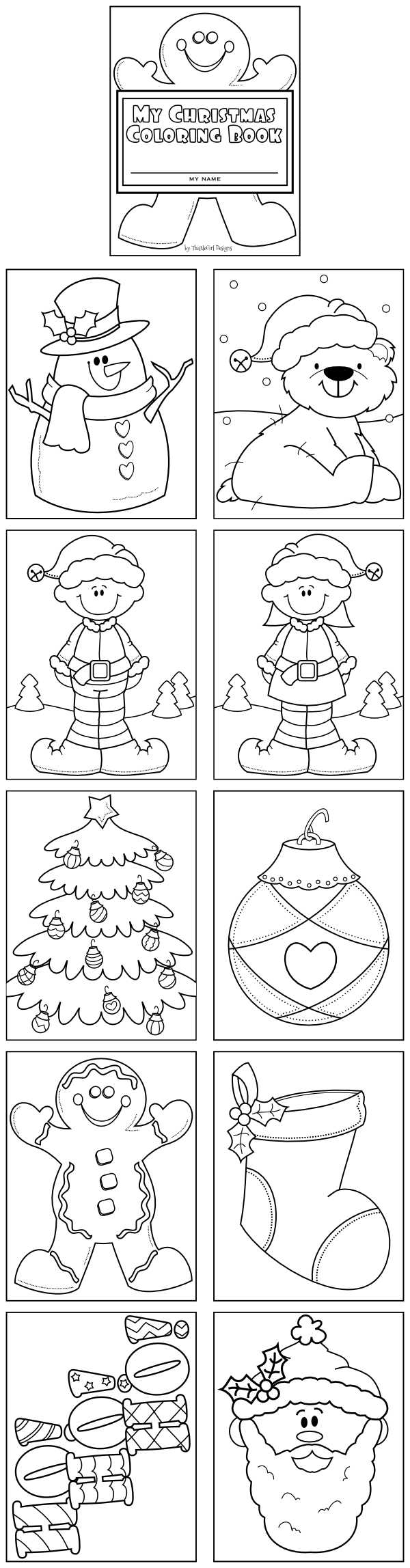 This Coloring Book Es In Pdf Format And Contains Ten Different