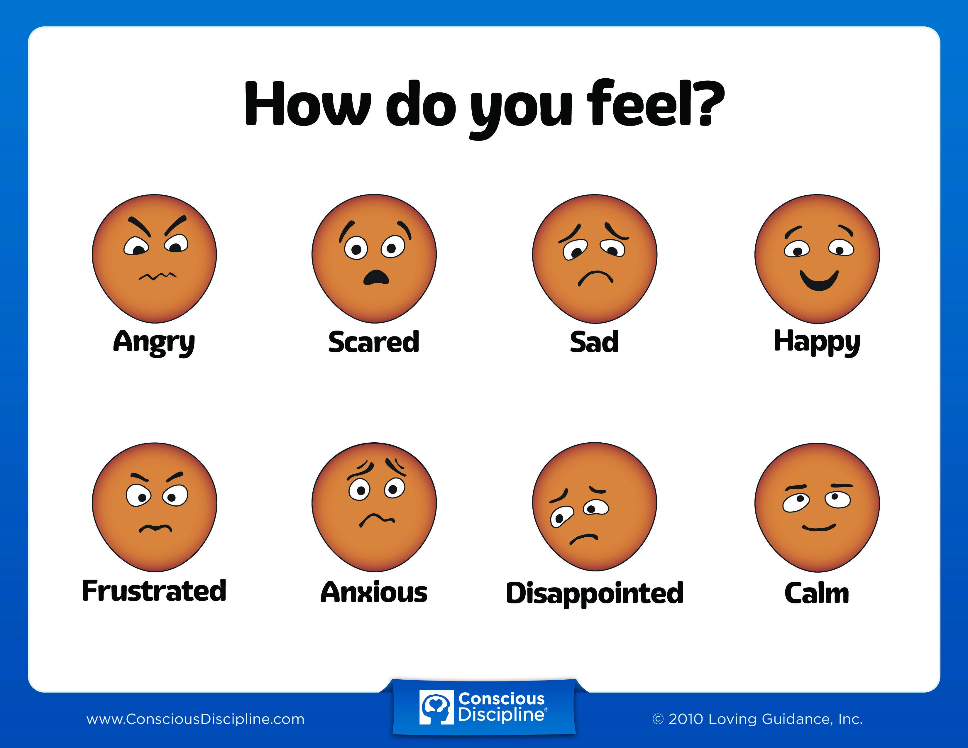 How Do You Feel Chart Final