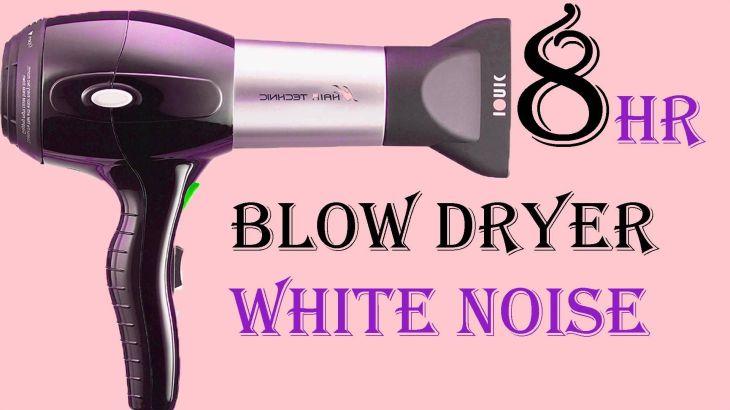Best hour blow dryer white noise sound for sleep asmr