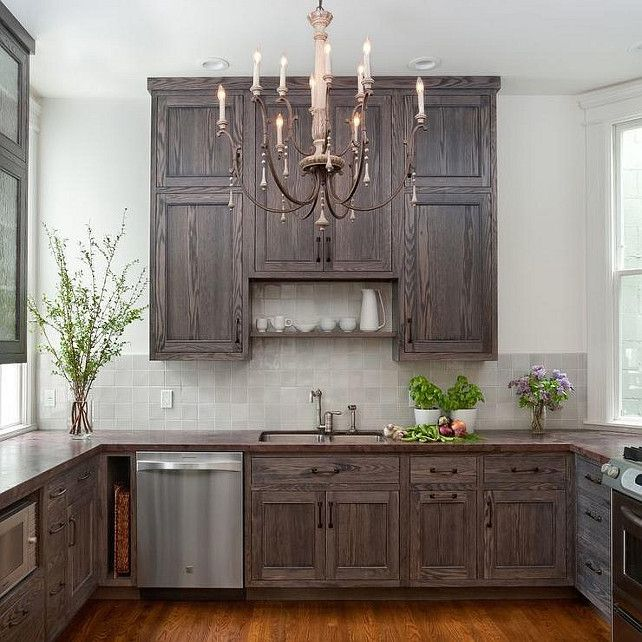 although i love white cabinets i am seriously attracted to these gray weathered look cabinets on kitchen interior grey wood id=83679