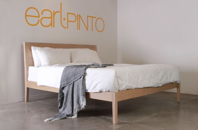 Australian Custom Plywood Furniture Lighting Solid American Oak Bed