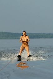 Image result for waterski naked