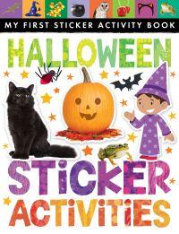 halloween sticker activity book