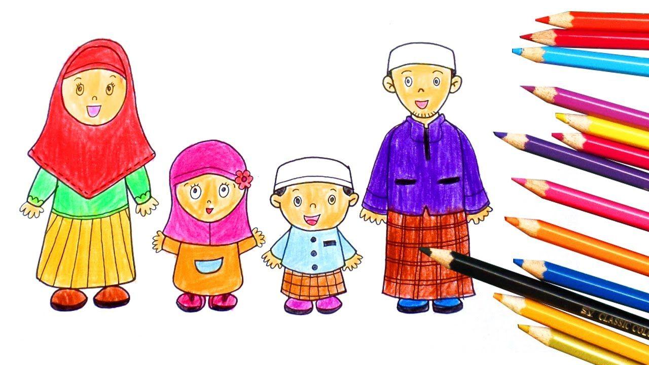 Animasi Kartun Islami Kolek Gambar