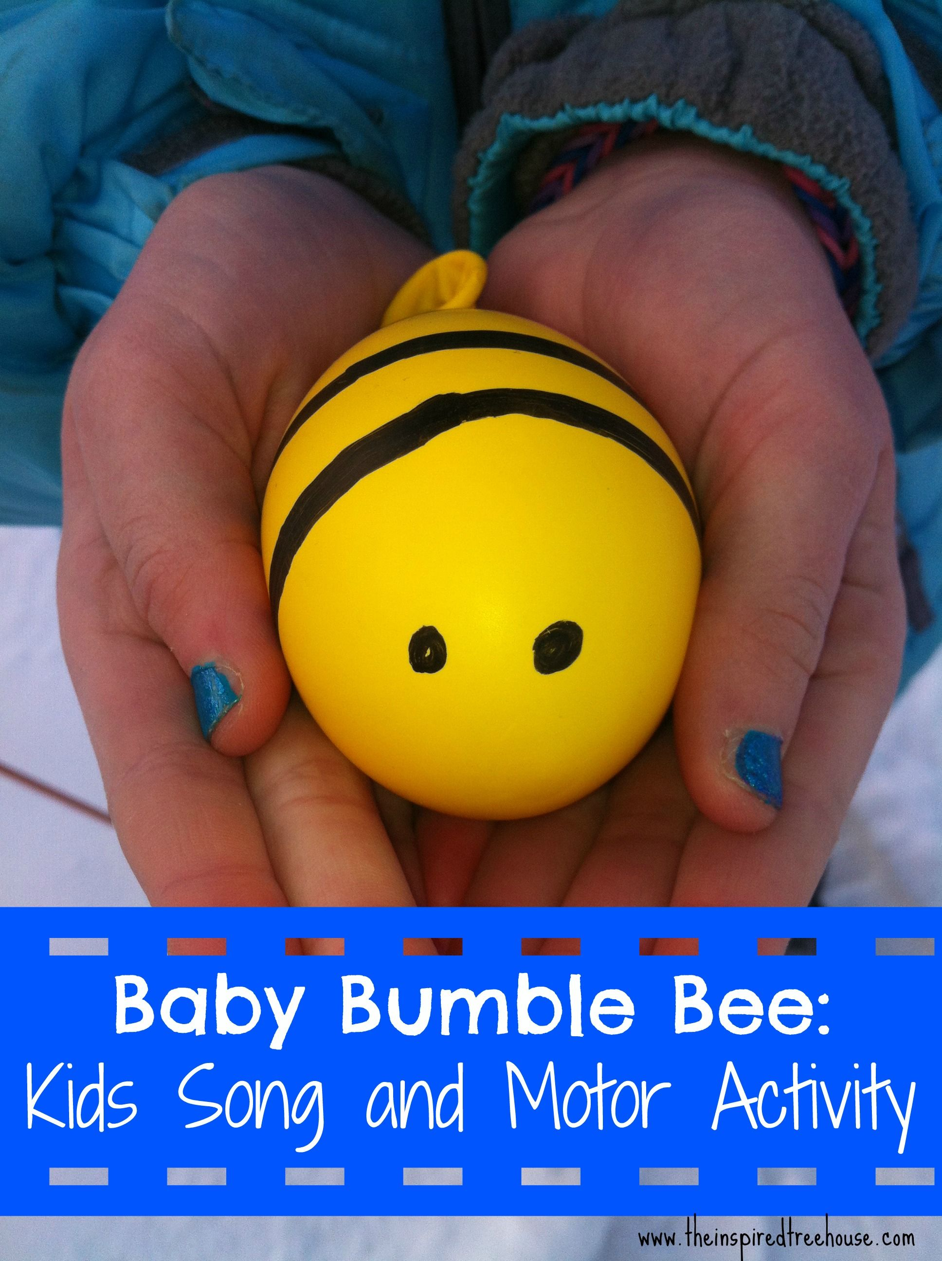 Baby Bumble Bee Movement Activity For Kids