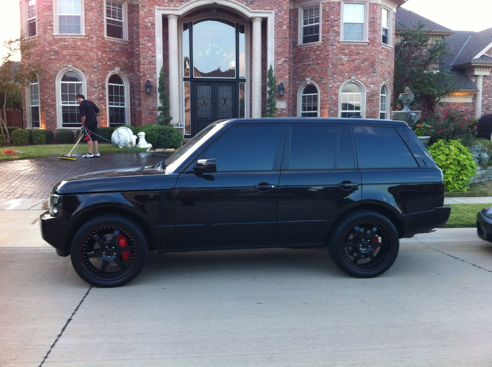Supercharged Black Range Rover HSE The Cars Pinterest
