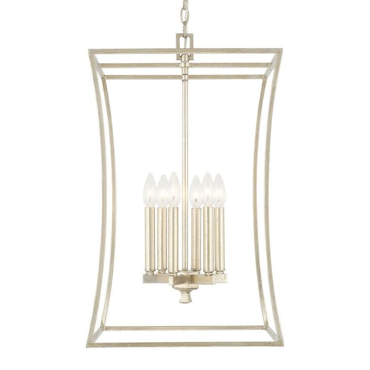 Capital Lighting Westbrook Collection light Winter Gold Foyer
