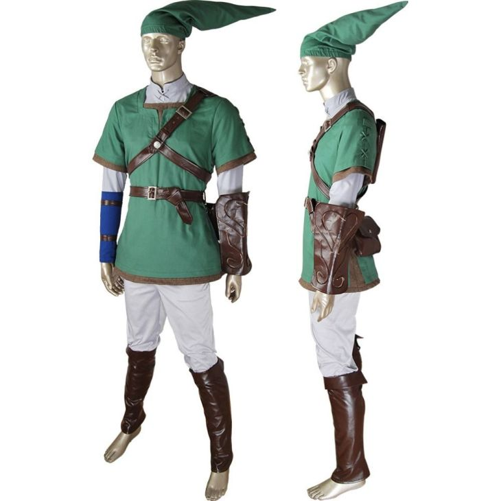 The Legend of Zelda Link Outfit Cosplay Twilight Dawn Halloween
