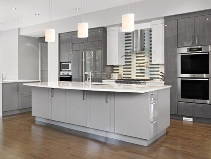 Silver Grey Kitchen Cabinets Kitchen Cabinets Pinterest Grey