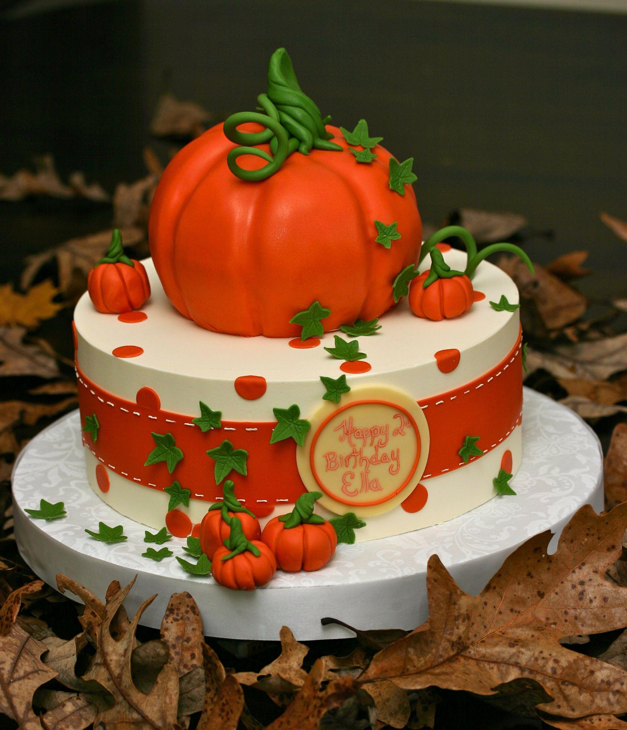 Fall Harvest Cake Thanksgiving