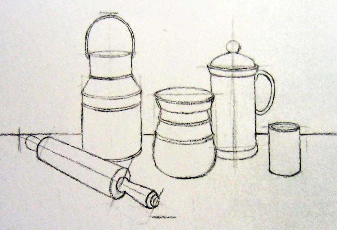 Formas De Cilindros Utilizados En Dibujo Lineal