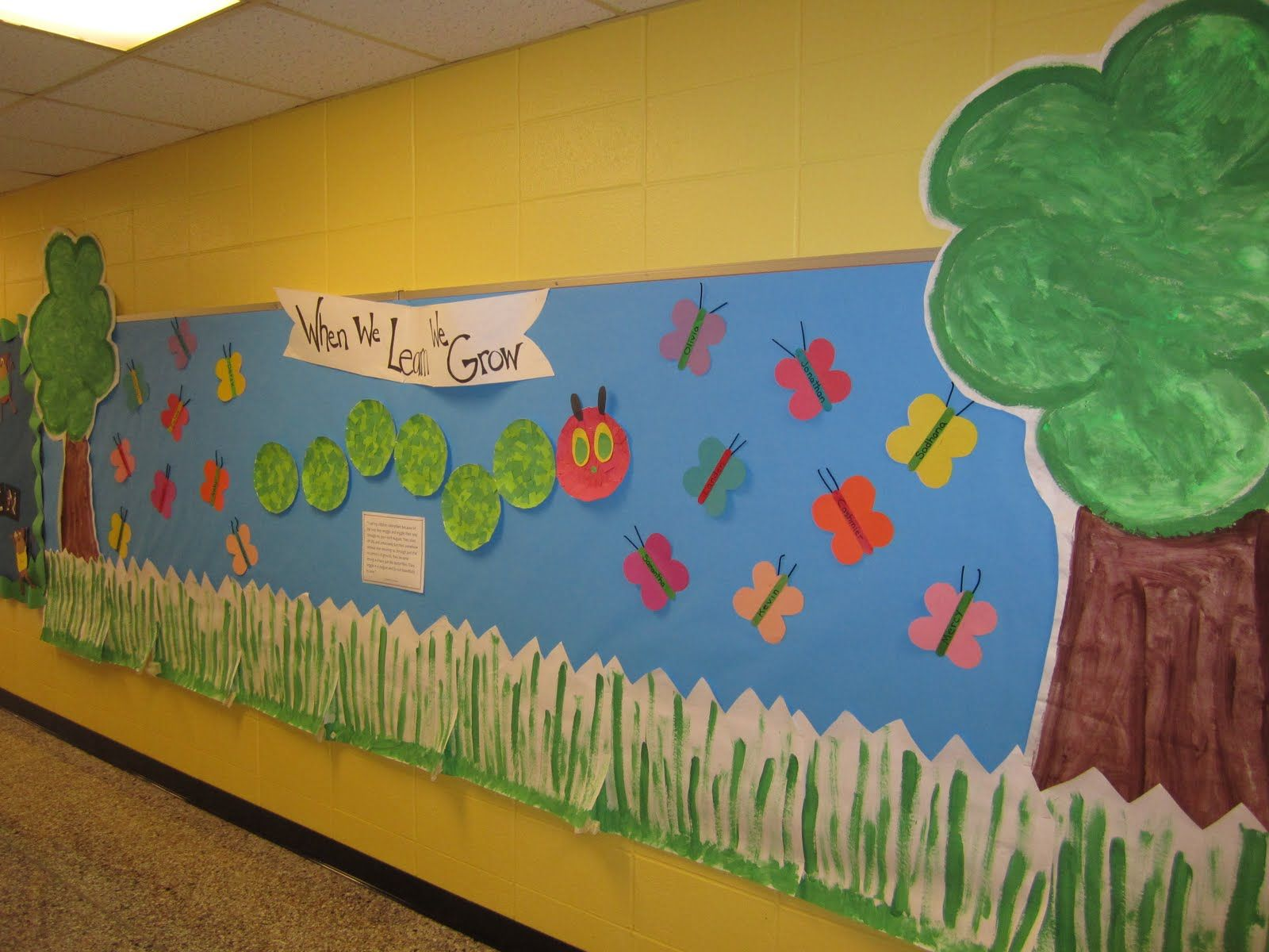 Welcome Back Bulletin Boards For Preschool