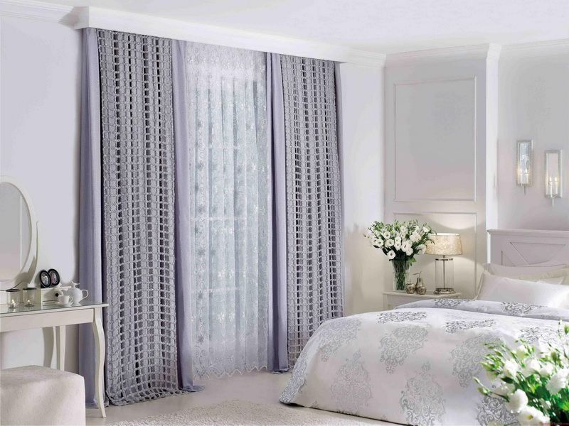 grey bedroom curtain ideas | design ideas 2017-2018 | pinterest