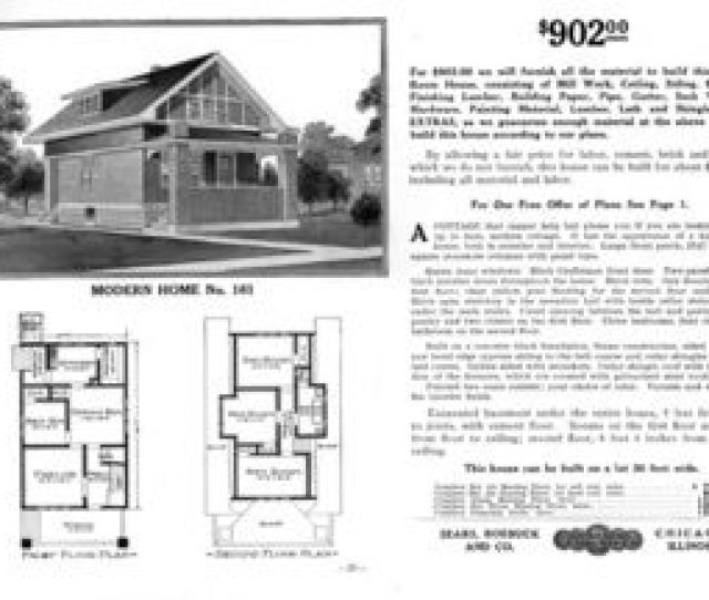 Modern Home No  The Niota Sears C  Public Domain