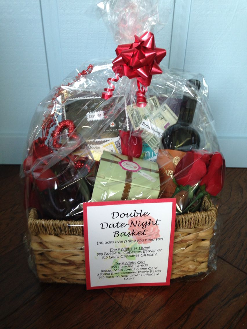 Auction Double Date Night Basket First Date Night