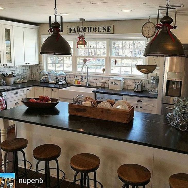 Inspirations Vintage Farmhouse Style Kitchen Island Vintage