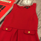Little red dress vintage style us tank dress flaws and st