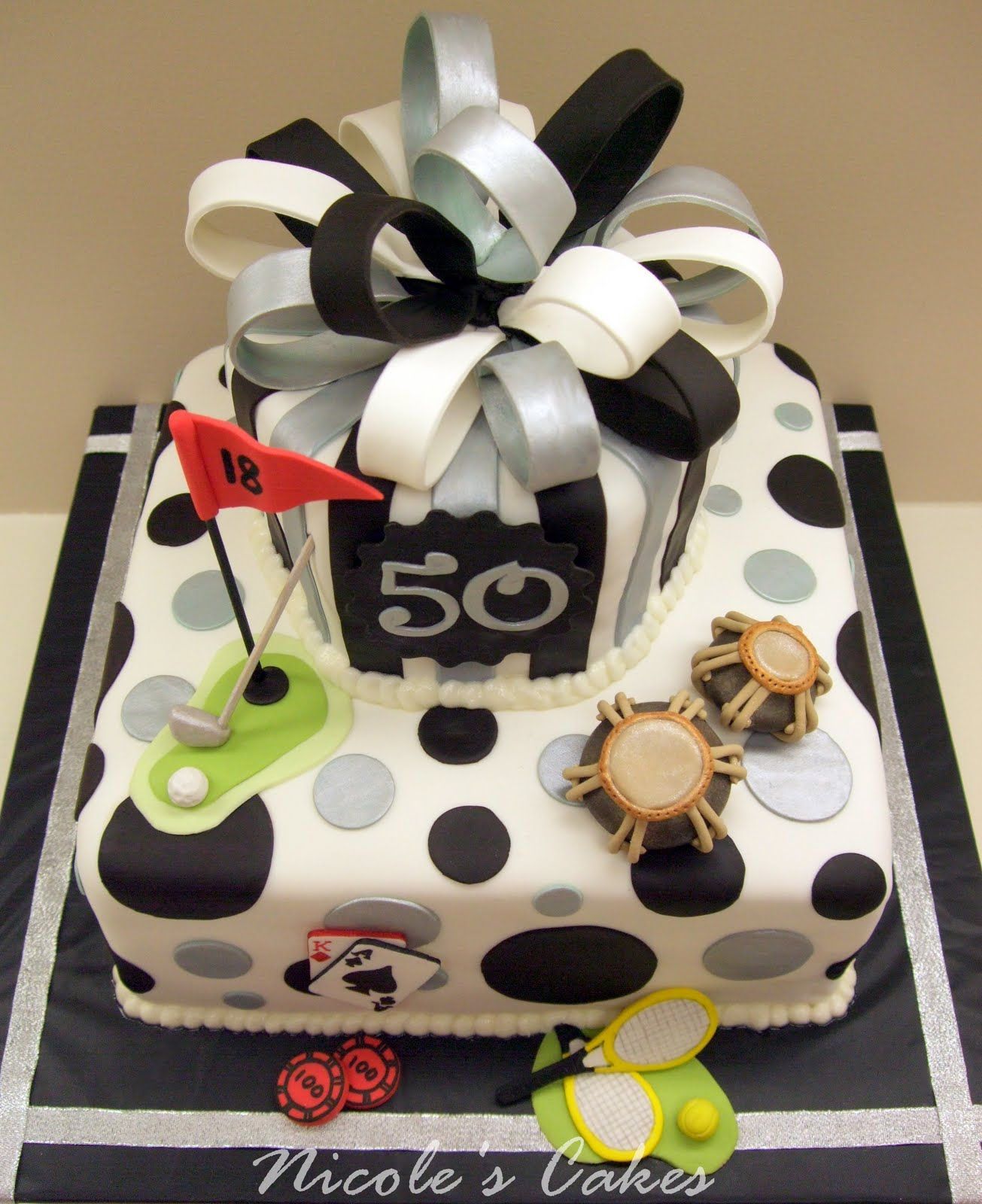 50th Men Birthday Cake Cakes Ideas