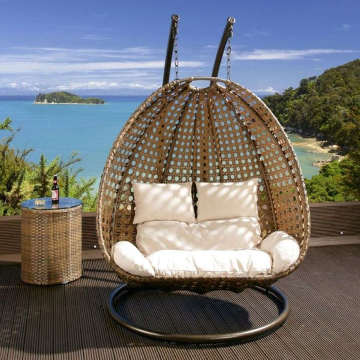 Outdoor Rattan Hanging Chair Furniture Seating Inspiration