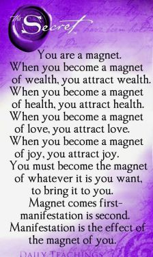Image result for magnet law of attraction
